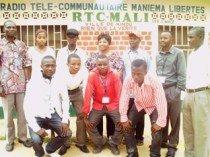 L'équipe actuelle de la Radio Mali