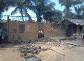 Communauté : tous les biens calcinés c'est le bilan d'une maison qui a été incendiée à Kindu,