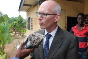 James Swan, Ambassadeur des USA en RDC (Photo Chadrack Londe)