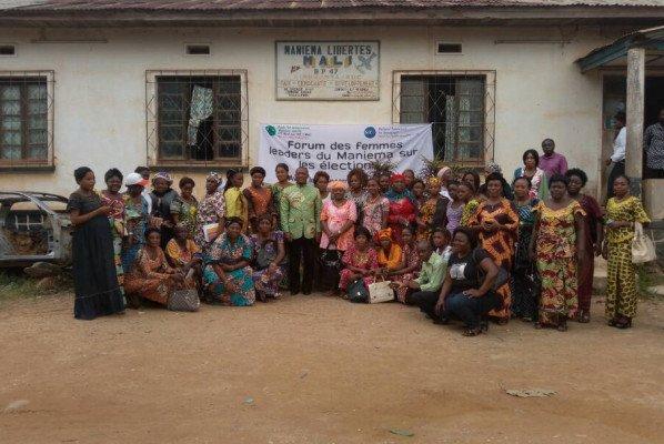 Maniema : les femmes doivent faire connaître dès à présent leurs ambitions politiques